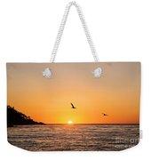 Sunset On Monterey Beach Weekender Tote Bag