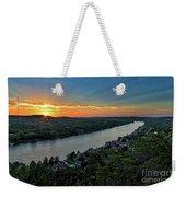 Sunset On Mount Bonnell Weekender Tote Bag