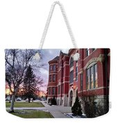Sunset On Old Main Weekender Tote Bag