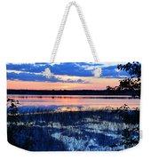 Sunset On Porcupine Lake Weekender Tote Bag