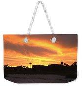 Sunset On Sanibel Weekender Tote Bag