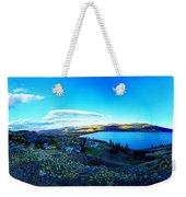 Sunset On Skaha Lake Weekender Tote Bag