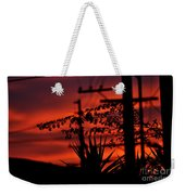 Sunset On Socal Suburb Weekender Tote Bag