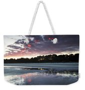Sunset On South Forest Weekender Tote Bag