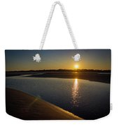 Sunset On St. Simons Island Weekender Tote Bag