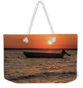 Sunset On The Bay Lavallette New Jersey  Weekender Tote Bag