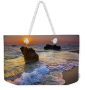 Sunset On The Beach Weekender Tote Bag