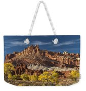 Sunset On The Castle Weekender Tote Bag