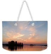 Sunset On The Chippewa Weekender Tote Bag