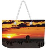Sunset On The Clearwater Beach Weekender Tote Bag