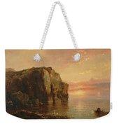 Sunset On The Coast Weekender Tote Bag