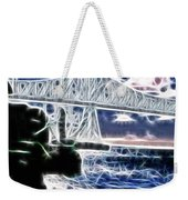 Sunset On The Columbia River Weekender Tote Bag