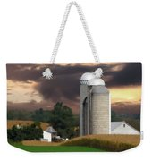 Sunset On The Farm Weekender Tote Bag