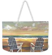 Sunset On The Gulf Coast Weekender Tote Bag