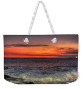 Sunset On The Harbor Weekender Tote Bag