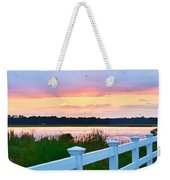 Sunset On The Indian River Weekender Tote Bag