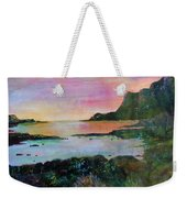 Sunset On The Isle Of Skye Weekender Tote Bag