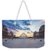 Sunset On The Louvre Weekender Tote Bag