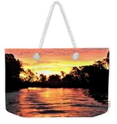 Sunset On The Murray River Weekender Tote Bag