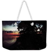 Sunset On The Ocean Weekender Tote Bag