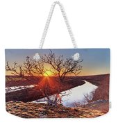 Sunset On The Osage River Weekender Tote Bag