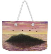 Sunset On The Pacific Weekender Tote Bag