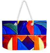 Sunset On The Peaks Weekender Tote Bag