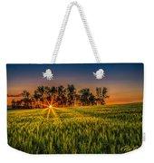 Sunset On The Prairie Weekender Tote Bag