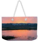 Sunset On The Refuge Weekender Tote Bag