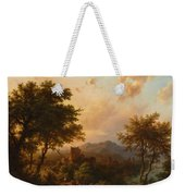 Sunset On The Rhine Weekender Tote Bag