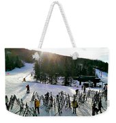 Sunset On The Slopes Weekender Tote Bag