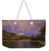 Sunset On The Snake River Weekender Tote Bag