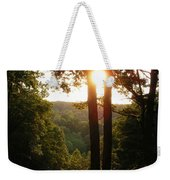 Sunset On The Trace Weekender Tote Bag
