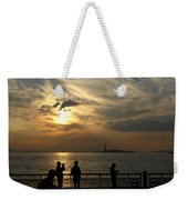 Sunset On The Upper Bay Weekender Tote Bag