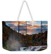 Sunset On The Upper Falls Weekender Tote Bag
