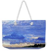 Sunset On The Volga. Gorodets Weekender Tote Bag