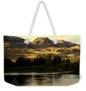 Sunset On The Yellowstone Weekender Tote Bag
