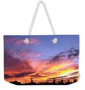 Sunset On Vancouver Island Weekender Tote Bag