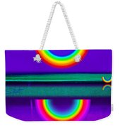 Sunset On Violet Weekender Tote Bag