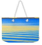 Sunset On Waves Weekender Tote Bag