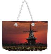 Sunset On Windmill Island Weekender Tote Bag