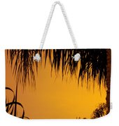 Sunset Orange After Storm Weekender Tote Bag