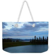 Sunset Out West Weekender Tote Bag