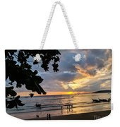 Sunset Over Ao Nang Beach Thailand Weekender Tote Bag