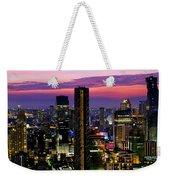 Sunset Over Bangkok Weekender Tote Bag