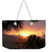 Sunset Over Bcharre, Lebanon Weekender Tote Bag