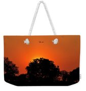 Sunset Over Botswana Weekender Tote Bag