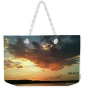Sunset Over Bridgeport Lake Weekender Tote Bag