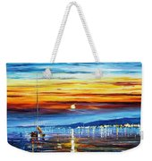 Sunset Over California Weekender Tote Bag
