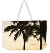 Sunset Over Chinamans Hat Weekender Tote Bag